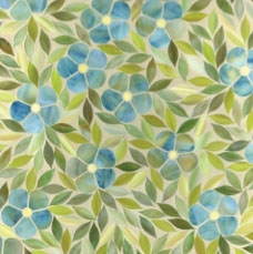 Jacqueline Mosaic in Blue