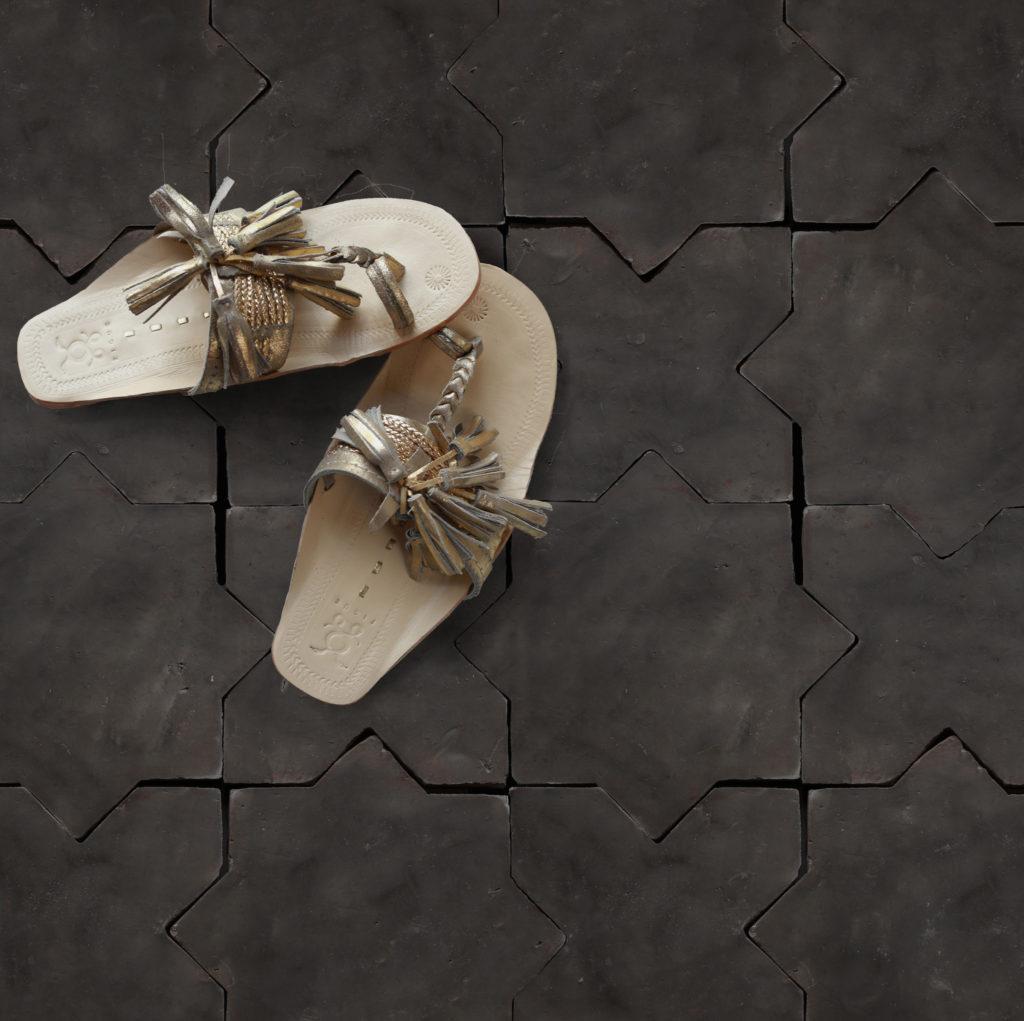 Cle Tile Belgium Black, a terracotta tile