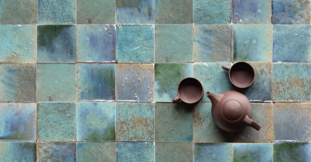 Eastern Earthenware Tile by Cle