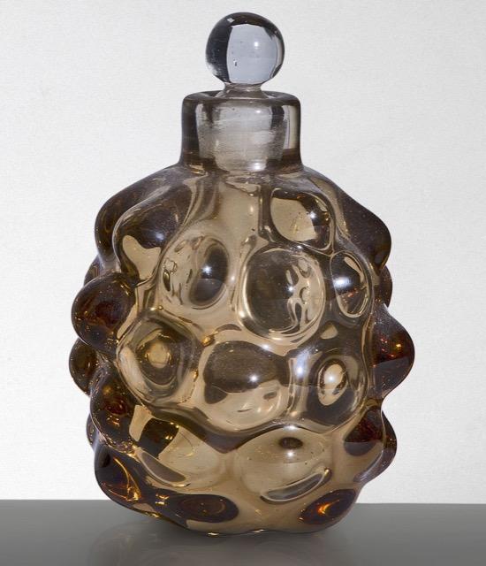 hick smoke-gray perfume bottle by Scarpa