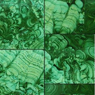 malachite in shades of abundance